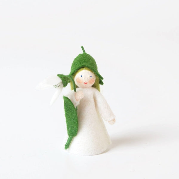Snowdrop Flower Fairy With Flower In Hand | Ambrosius | Conscious Craft