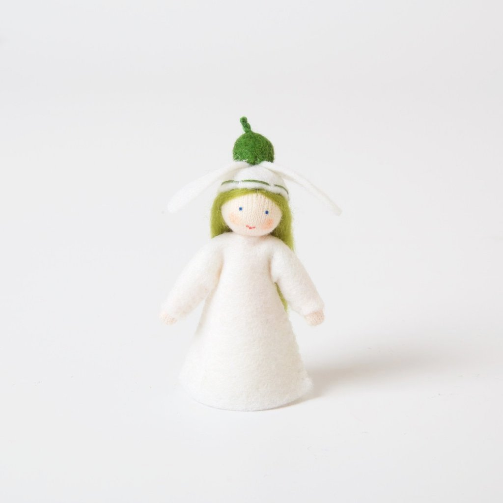 Flower Fairy With Flower On Head | Snowdrop