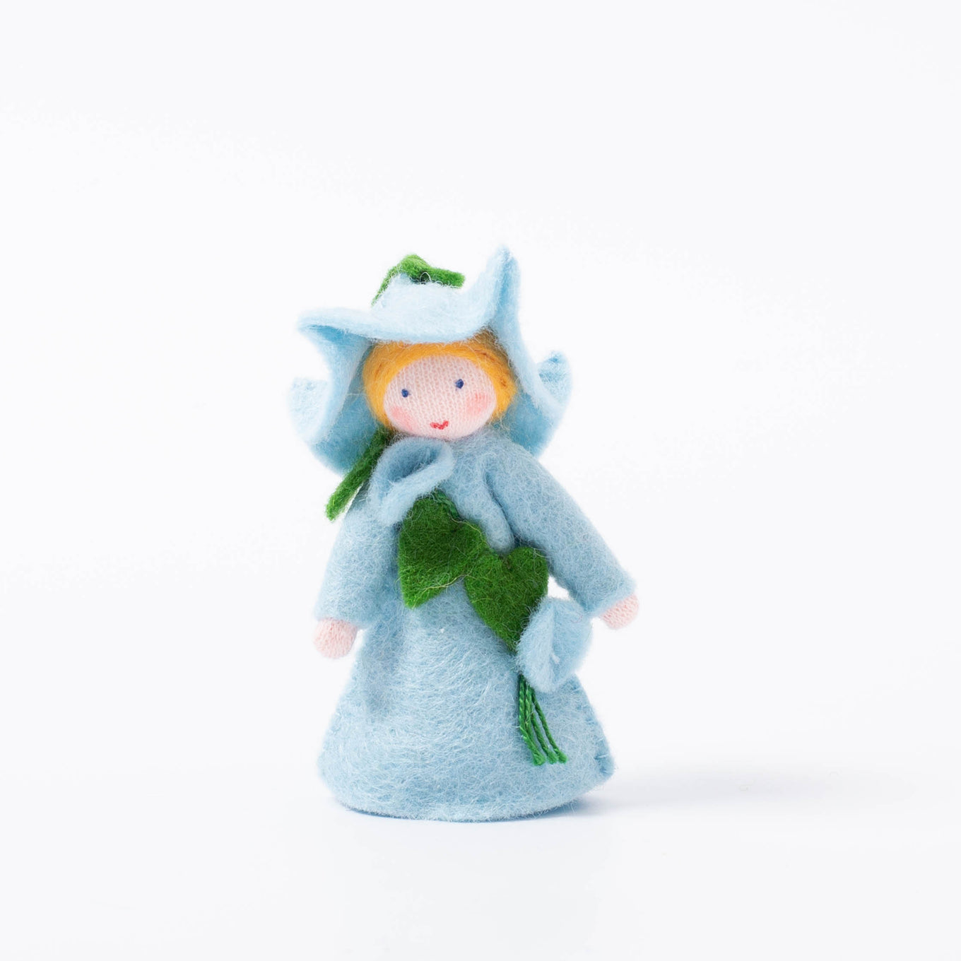 Felt Flower Fairy Morning Glory | Light Blue