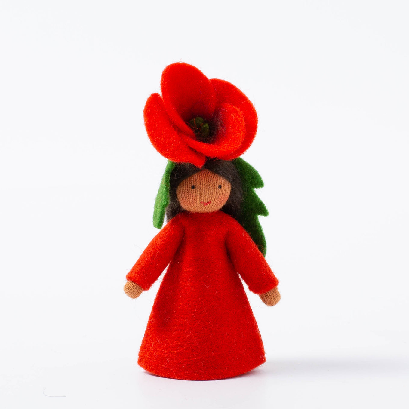 Felt Flower Fairy | Poppy | Medium Skin Tone