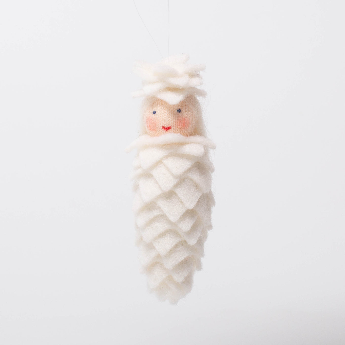 Pinecone white