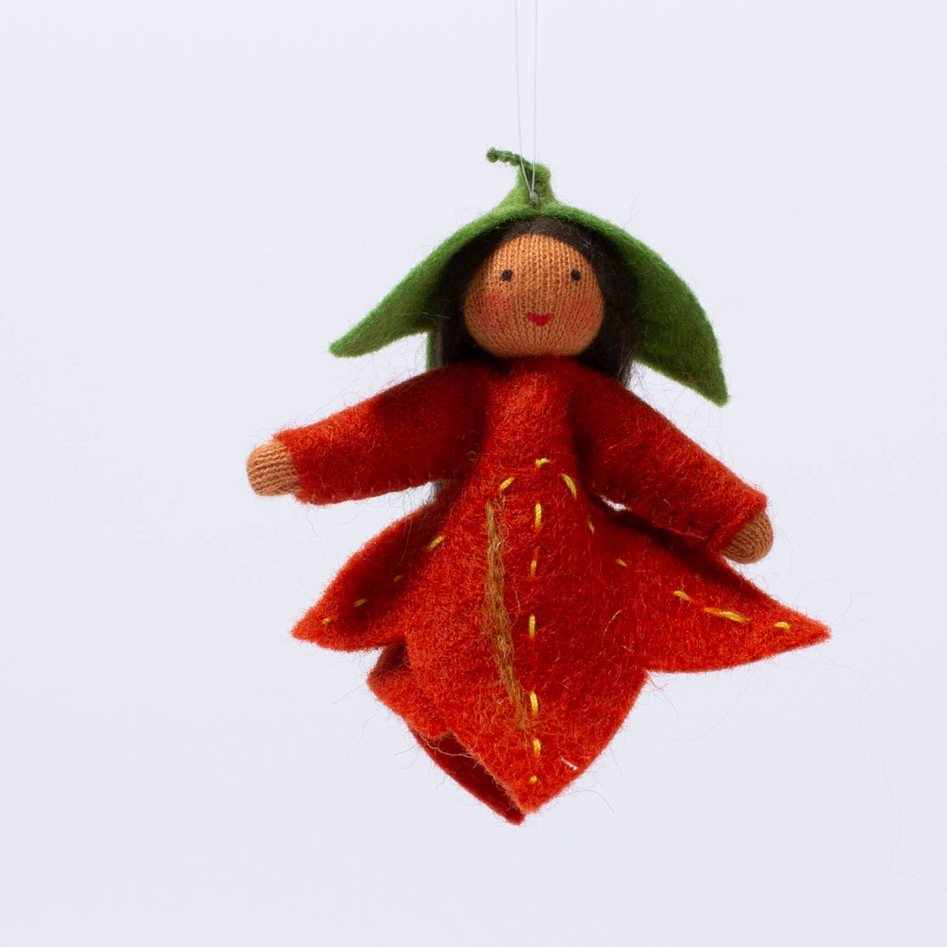 Hanging Maple Leaf Fairy
