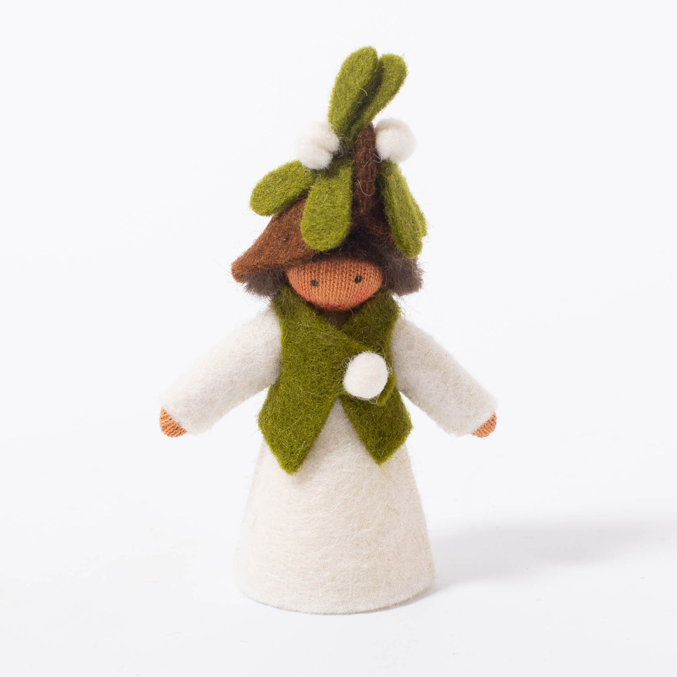 Flower Fairy Mistletoe Boy | Medium Skin Tone
