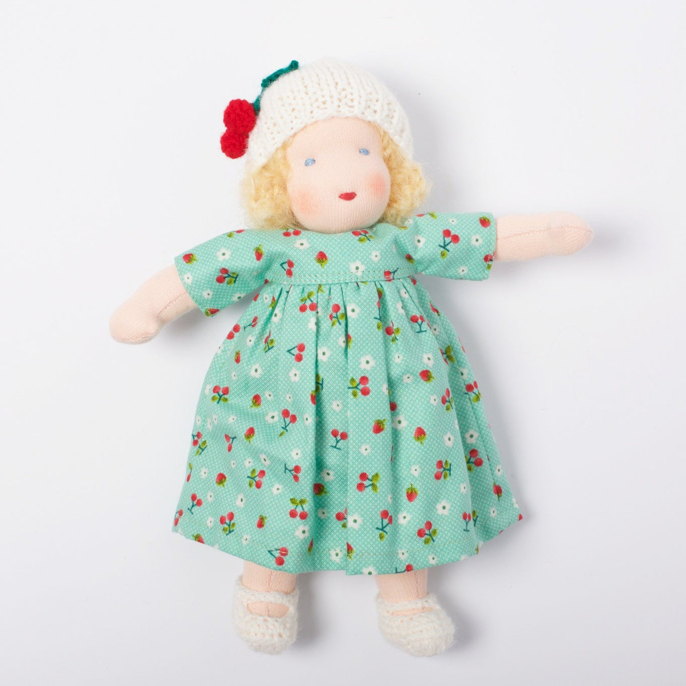 Waldorf Doll Blonde Hair | Cherry
