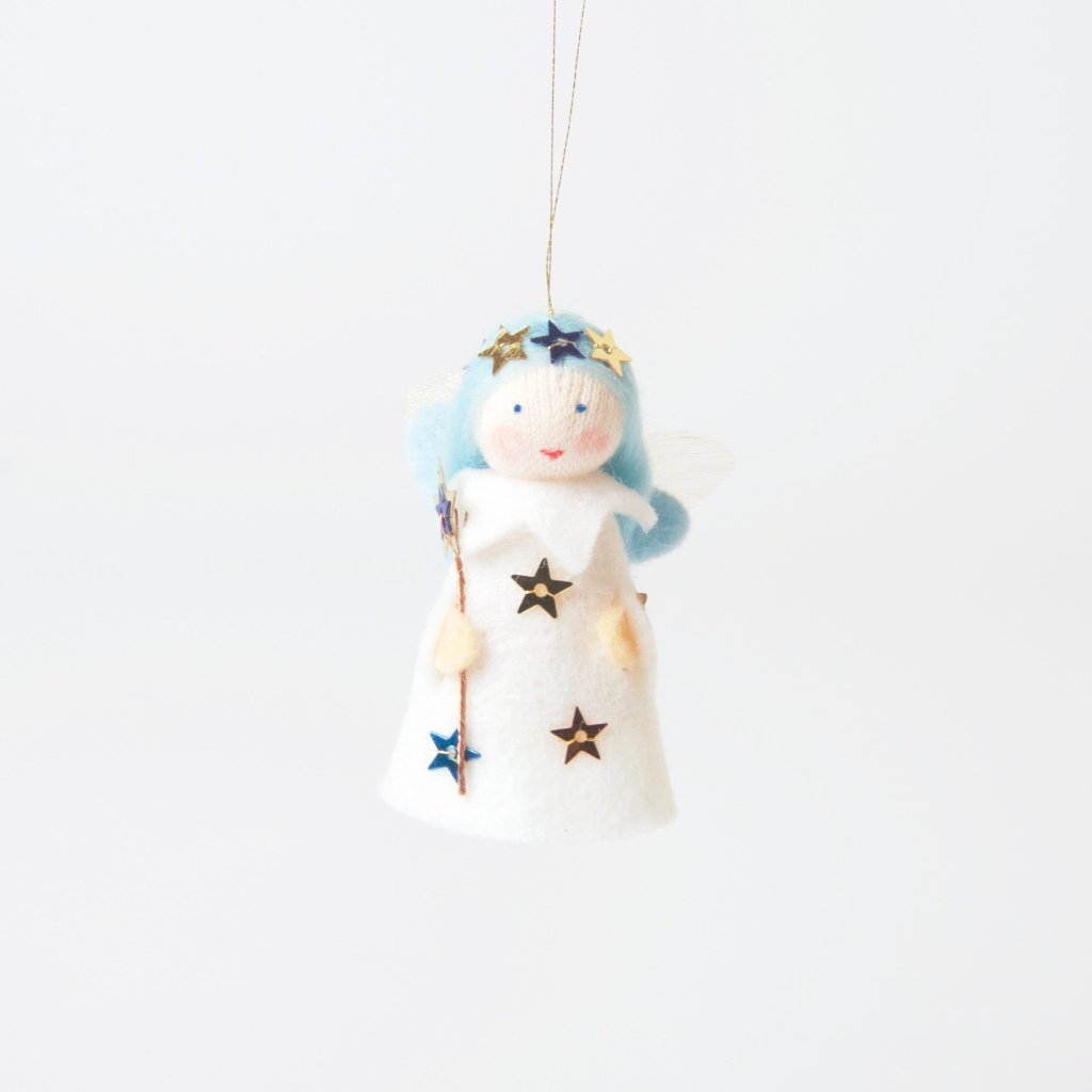 Blue Wish Fairy With Bell