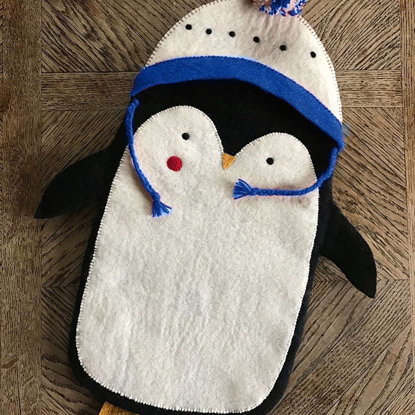 Christmas Stocking | Blue Pete the Penguin