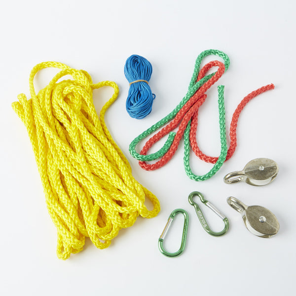 Kids at Work Pulley & Cable Car from Conscious Craft