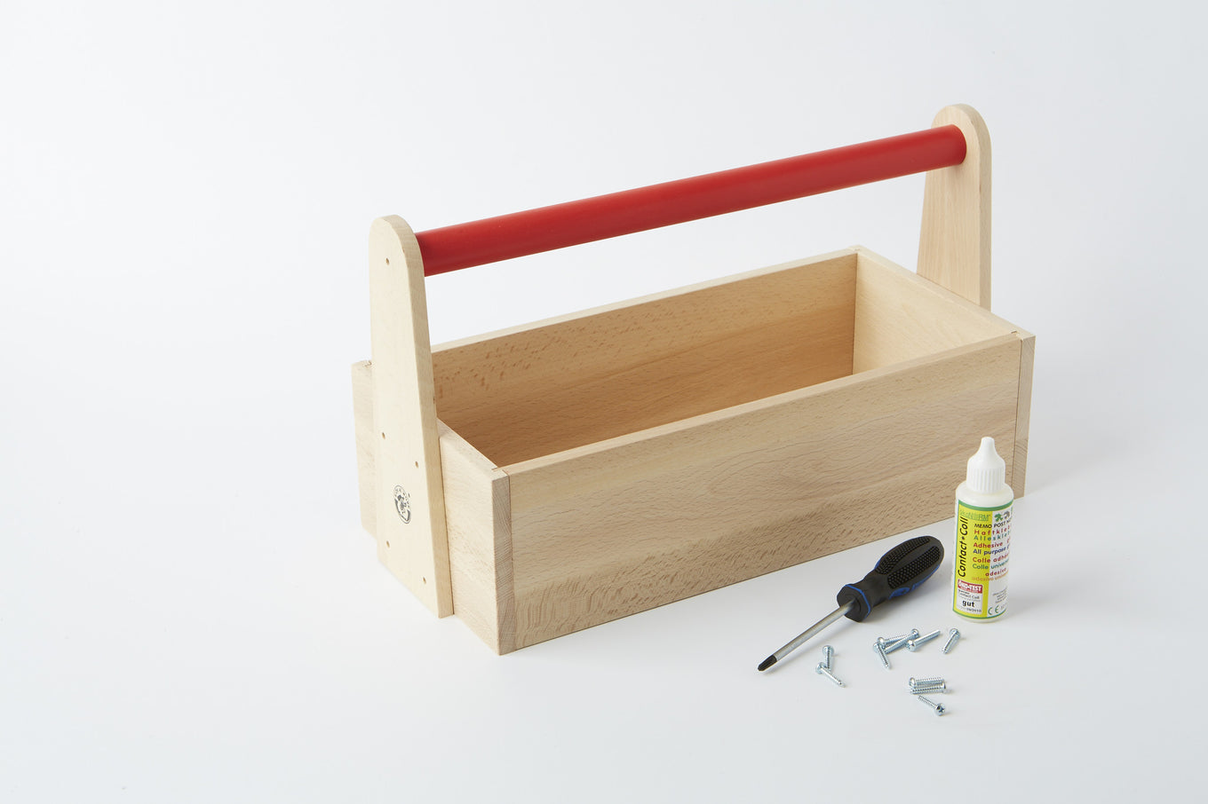 Wooden Toolbox Kit