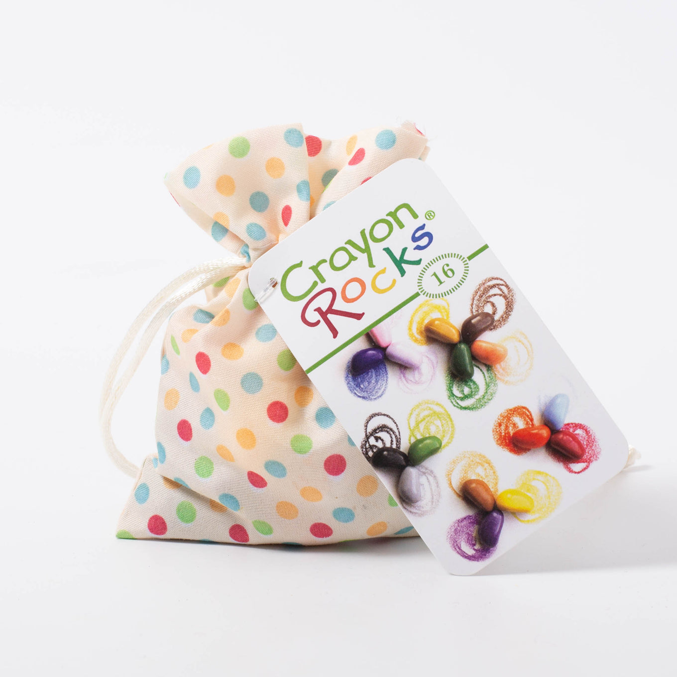Crayon Rocks® | 16 colours in MultiDot bag