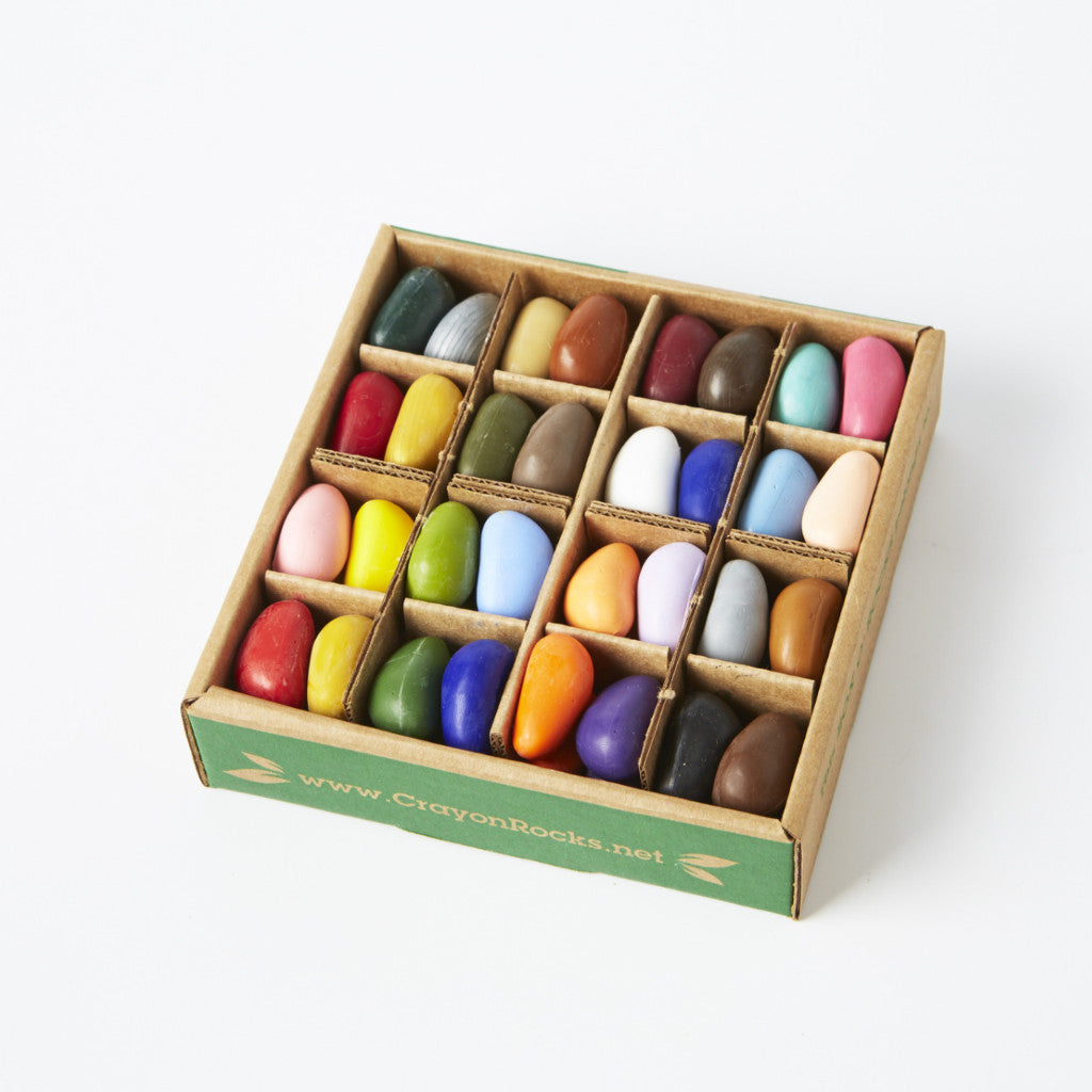 Crayon Rocks® - Just Rocks in a box 32 Colours