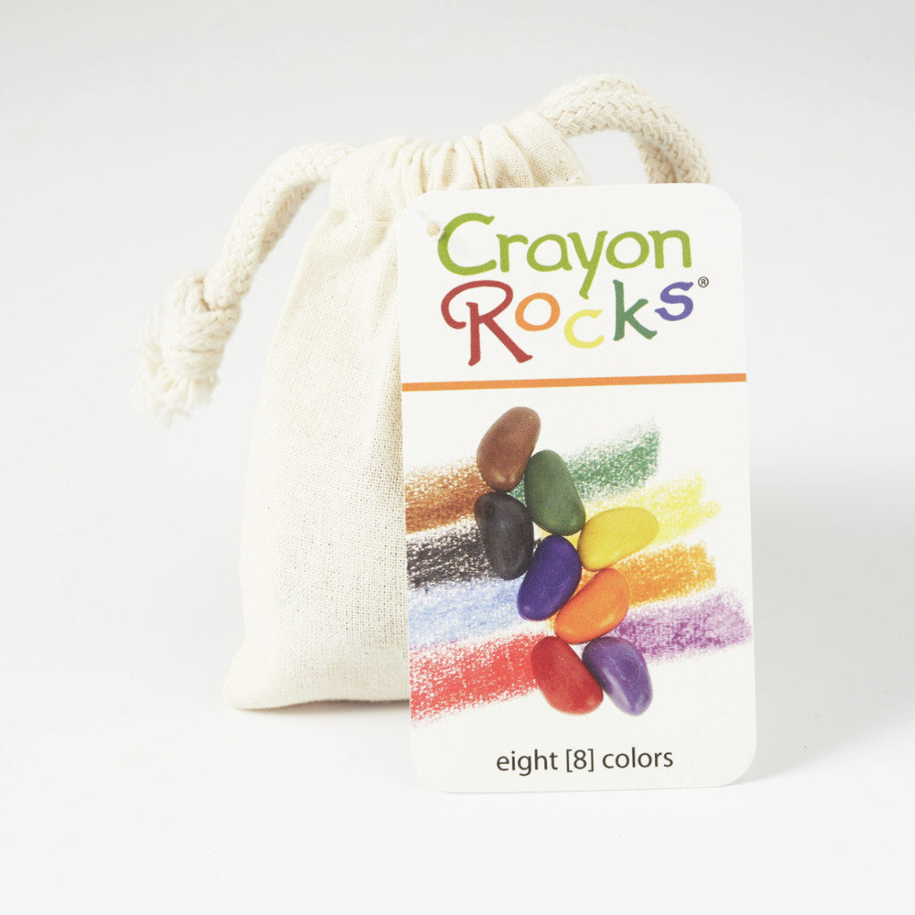 Crayon Rocks® - 8 colours