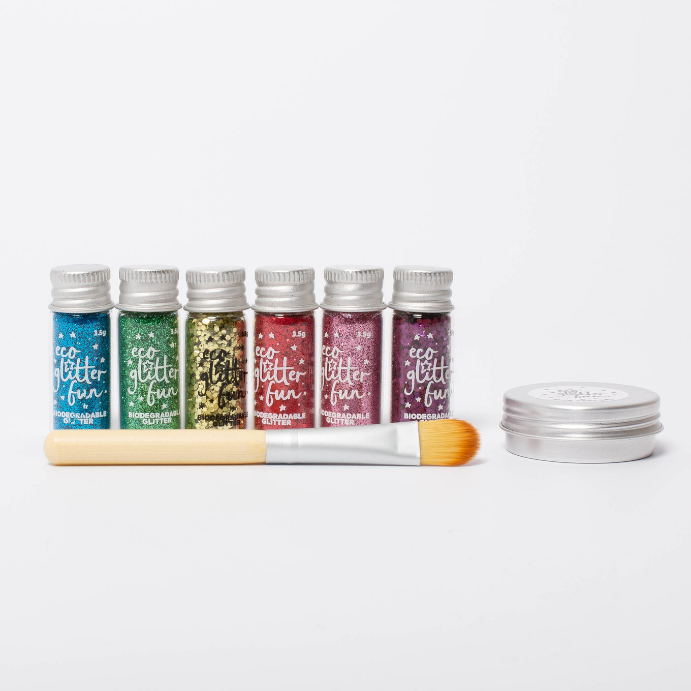 Eco Make-Up Glitter | Rainbow