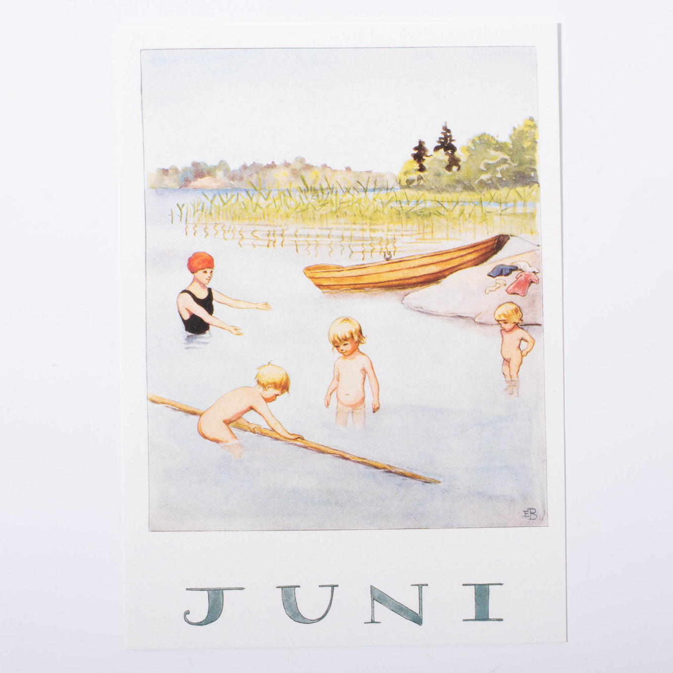 Elsa Beskow Postcard | June