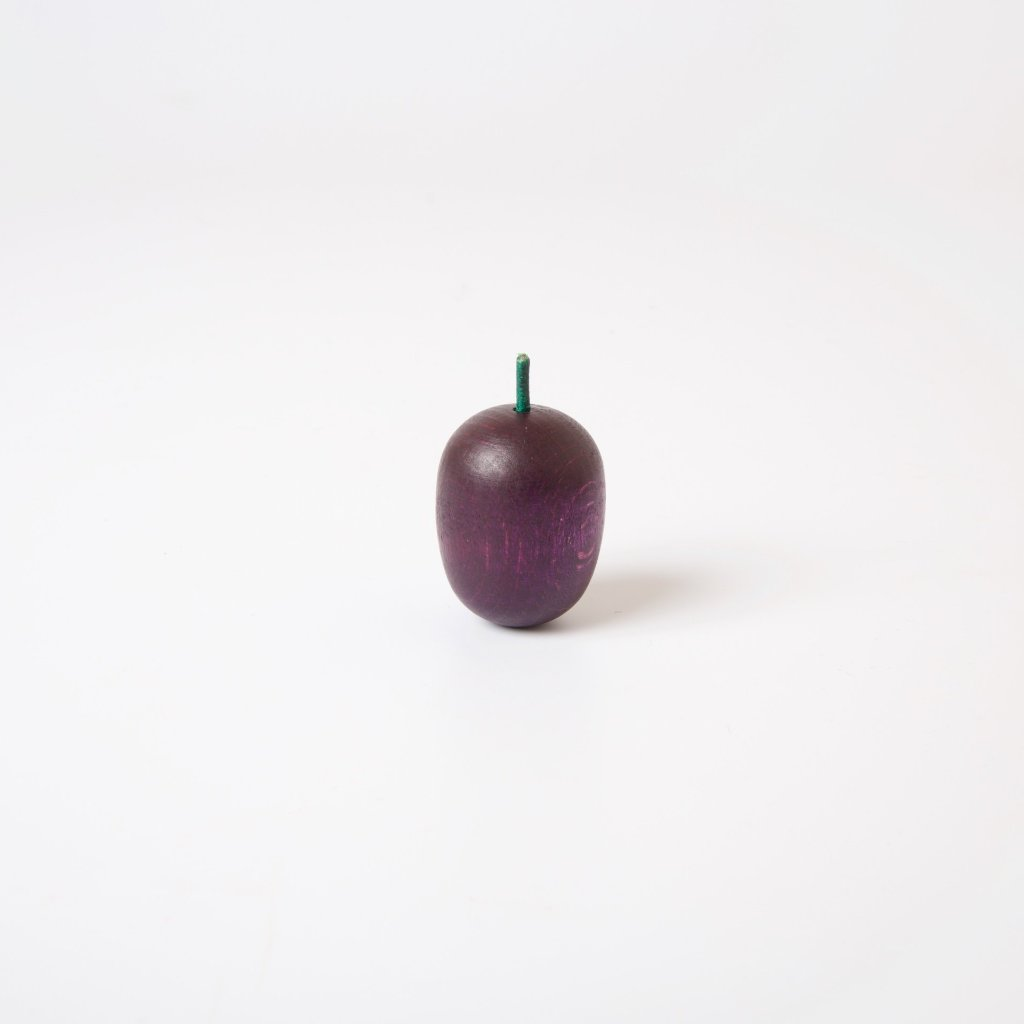 Wooden Fruit | Purple Plum