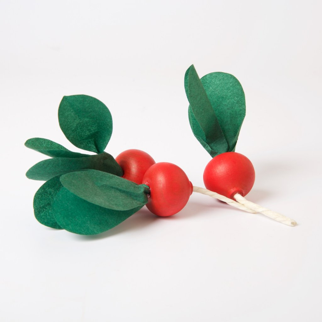 Wooden Vegetables | Bunch Of Radishes
