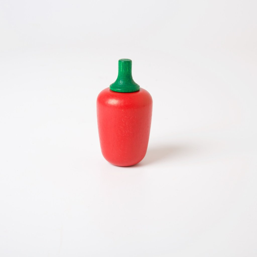 Wooden Vegetables | Red Pepper