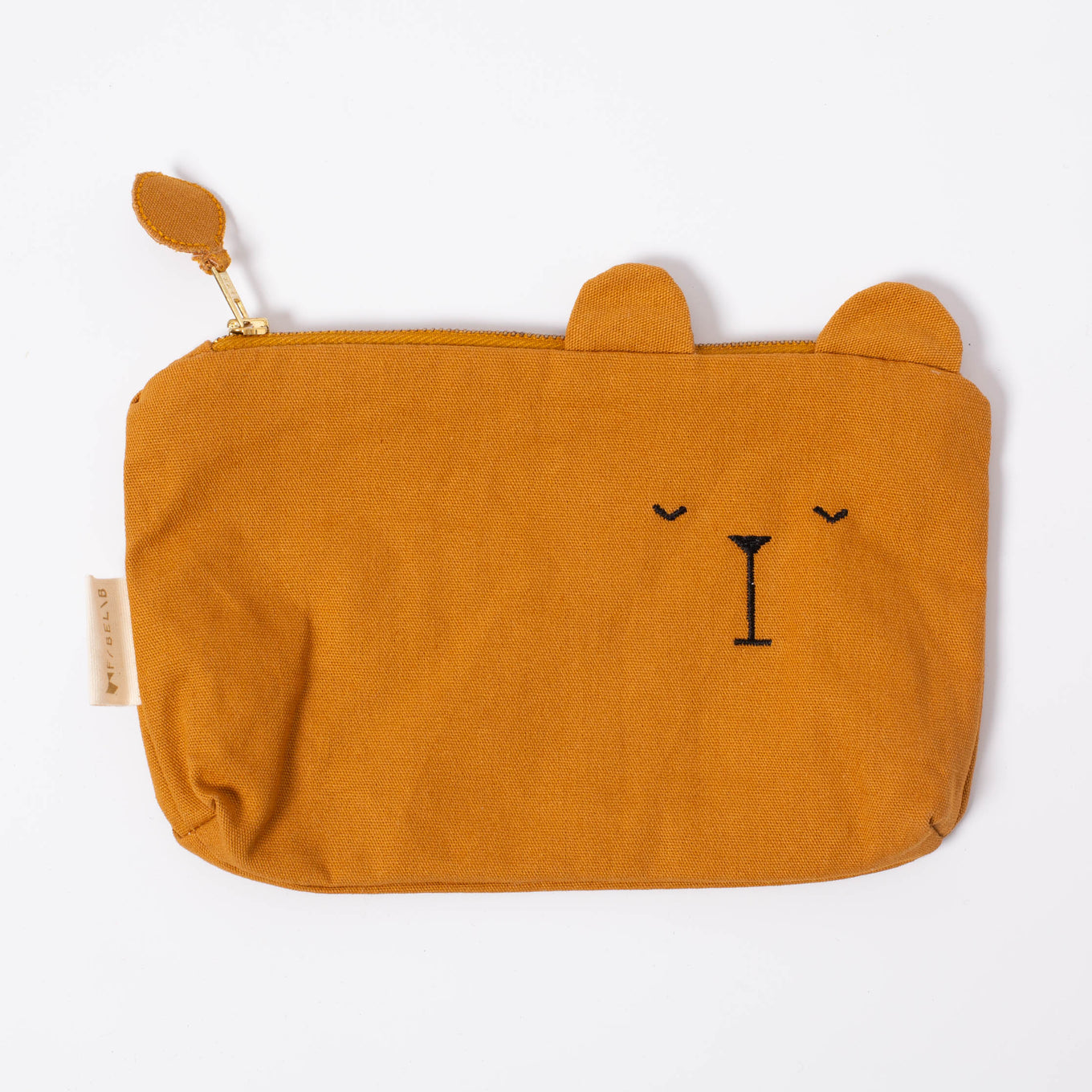 Fabelab Bear Pencil Case | Ochre