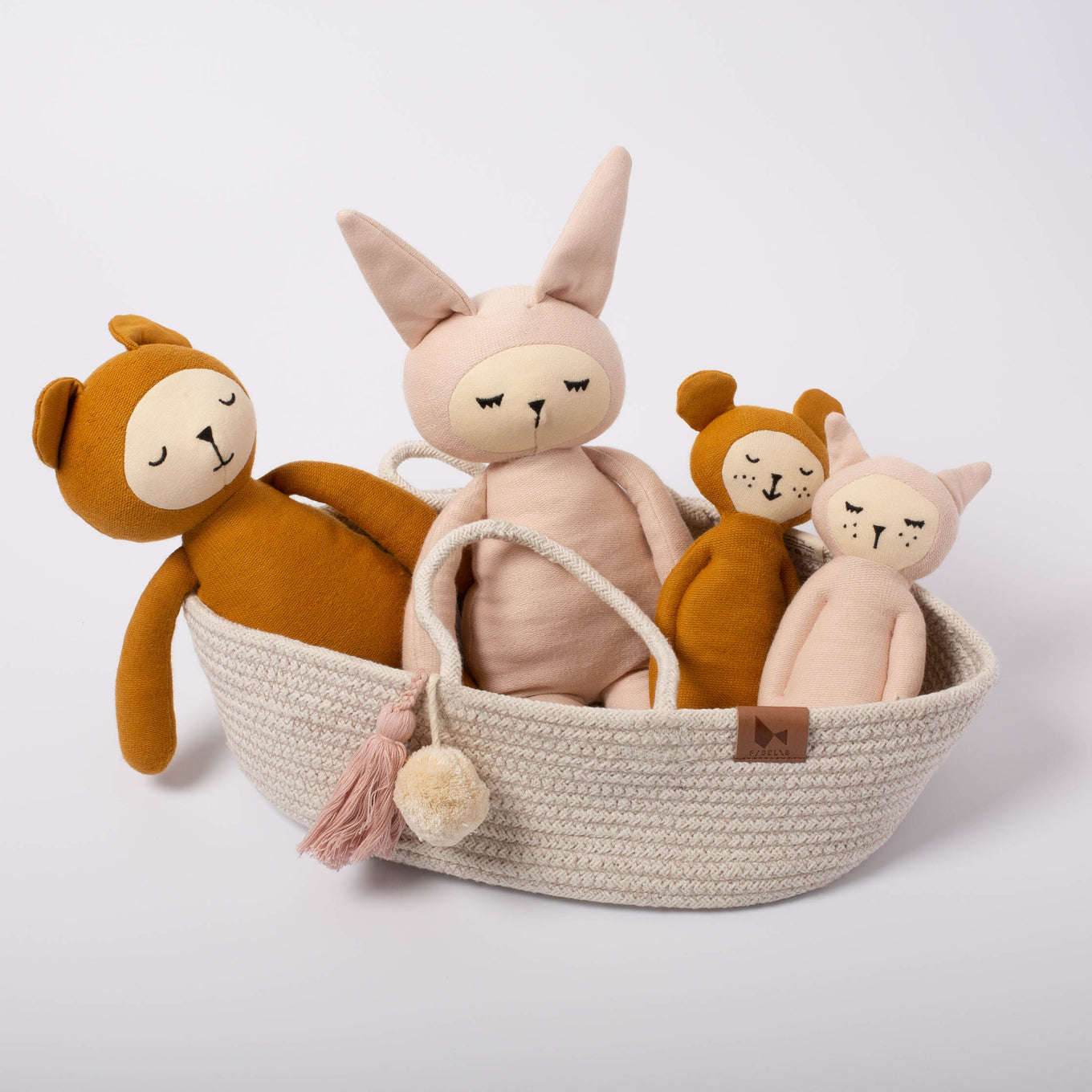 Rope Dolls Basket