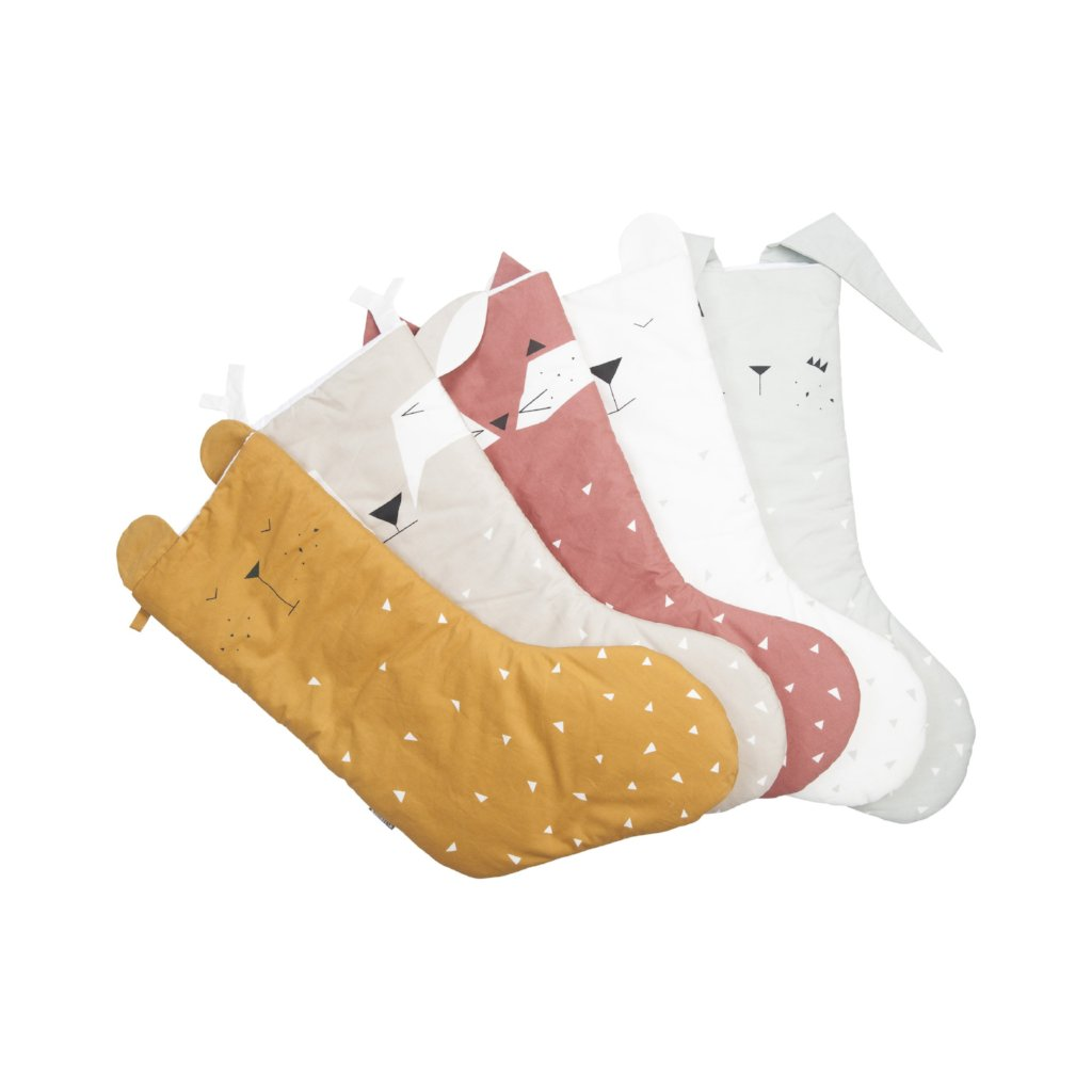 Fabelab Animal Christmas Stocking - Bunny