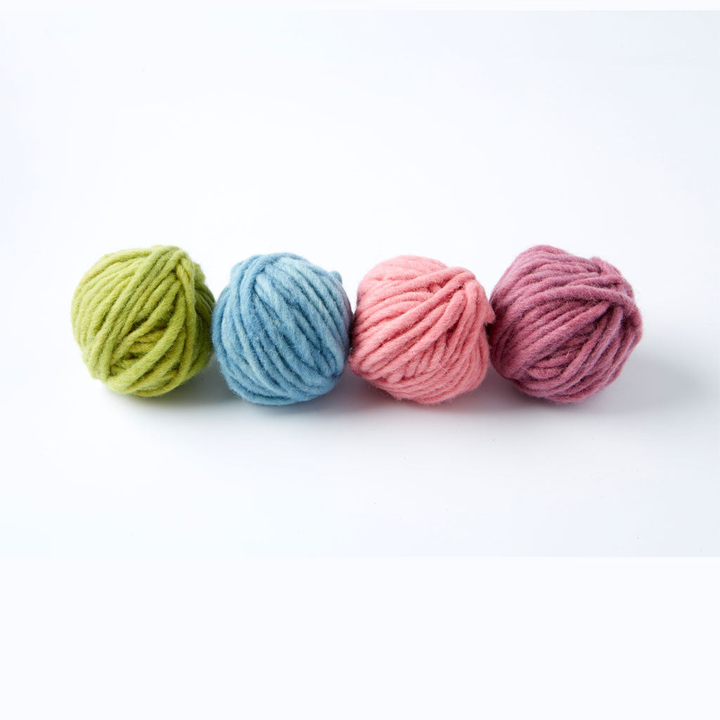 Organic Single Ply Wool - Soft Colours