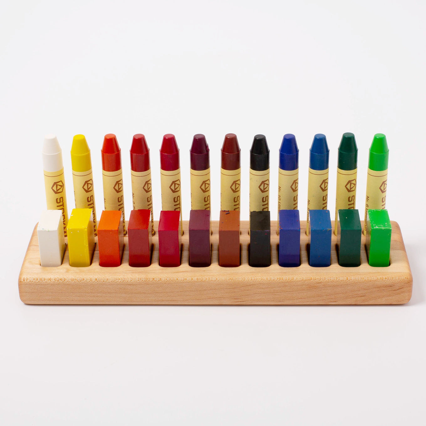Wooden Crayon Holder 12/12