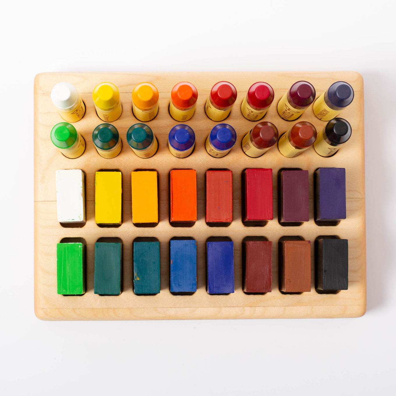 Wooden Crayons & Blocks Holder 16/16