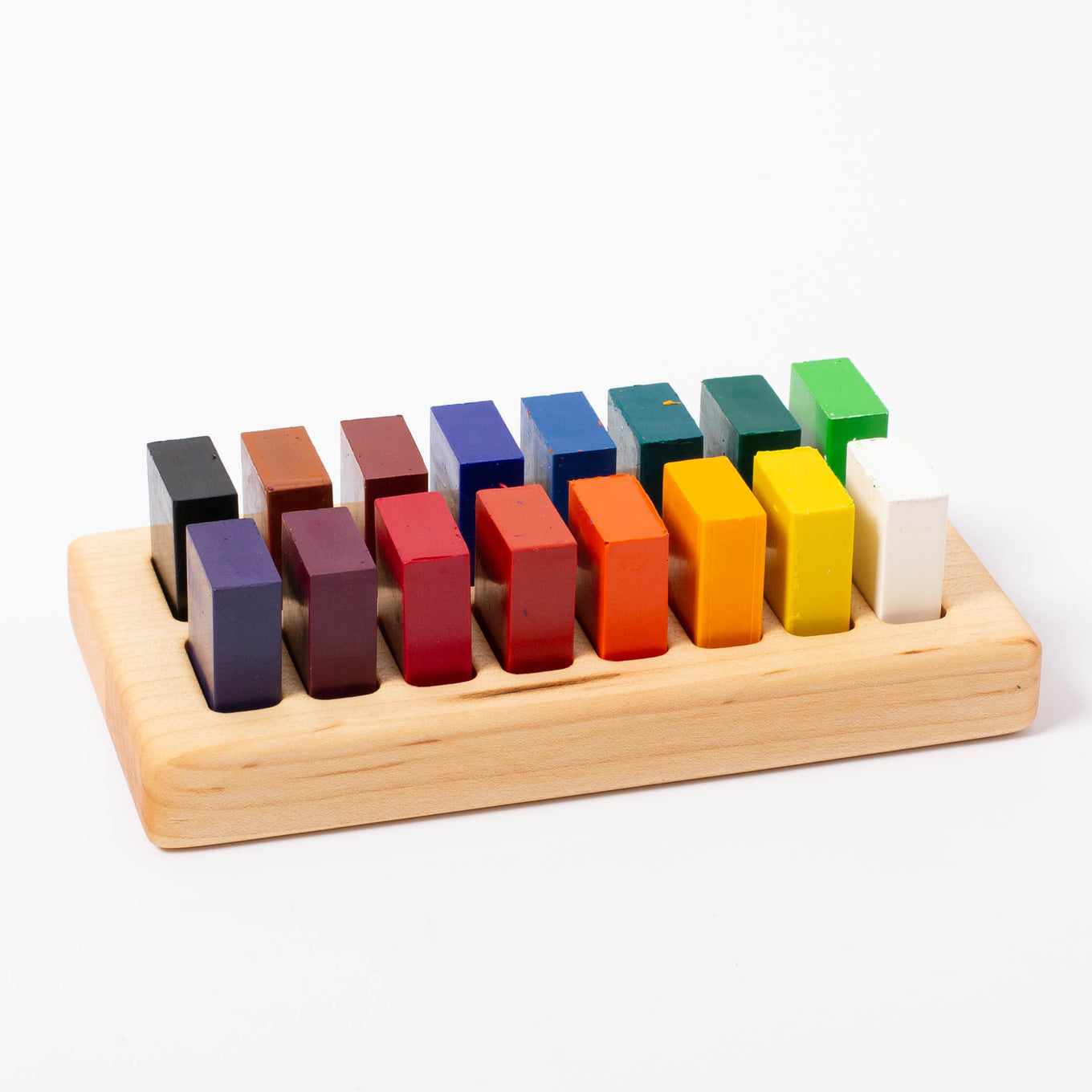 Wooden Blocks Holder 16