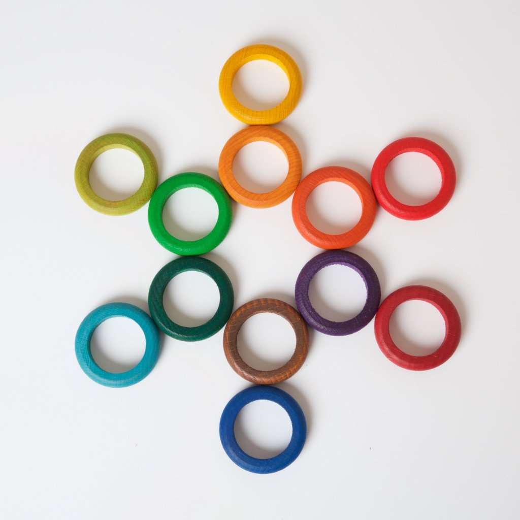 12 Rainbow Rings | Calendar Supplementary Set
