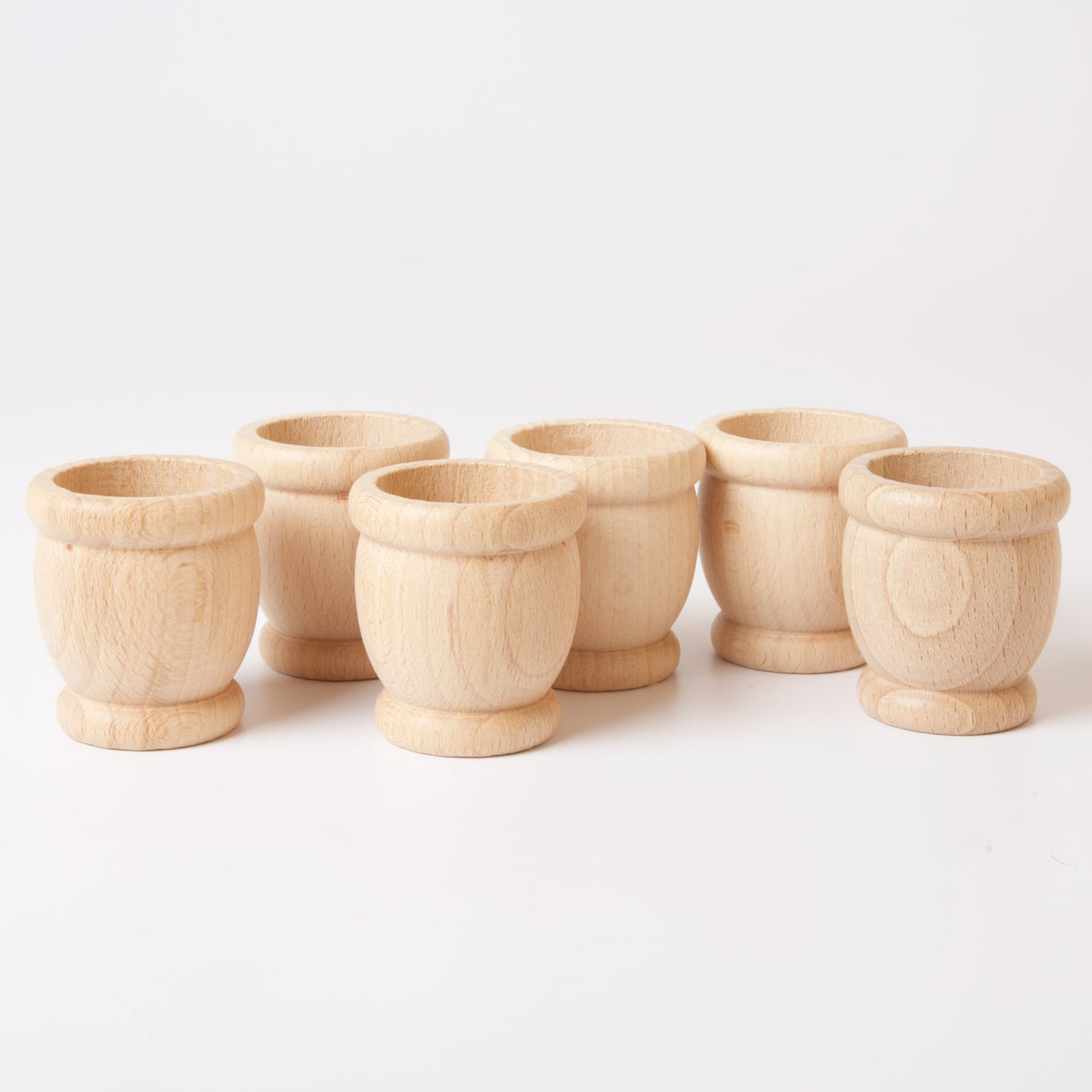 6 Natural Cups