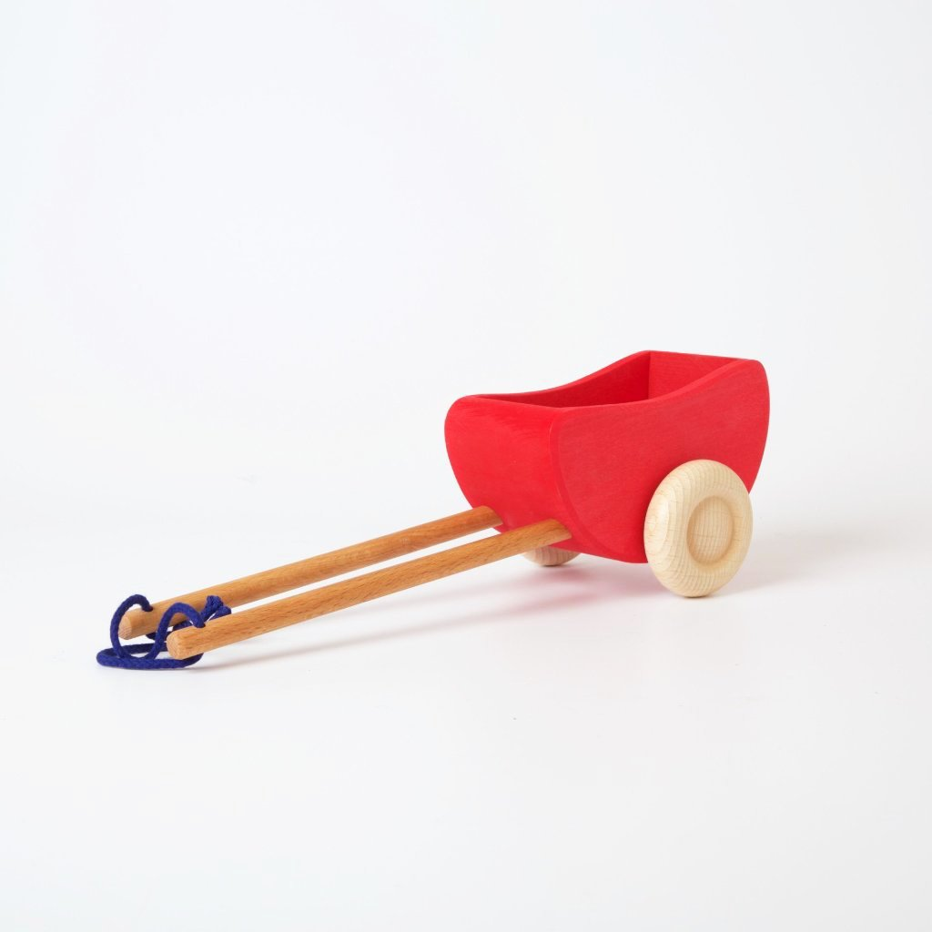 Large Wooden Cart | Red