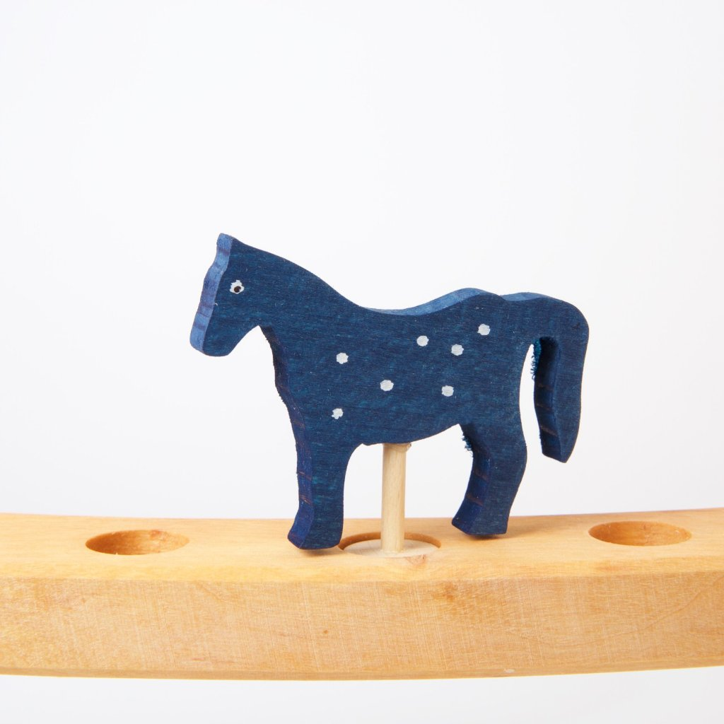 Horse Blue | Decorative Figure