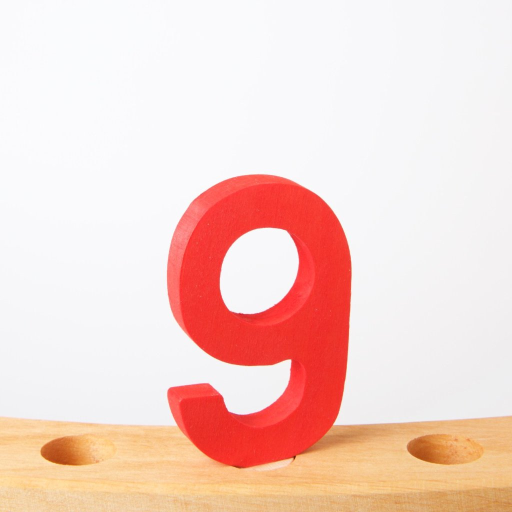 9 | Decorative Number