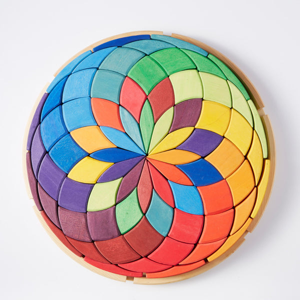 Large Colour Spiral Puzzle by Grimm's
