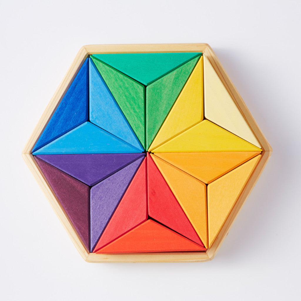 Complementary Colour Star Puzzle