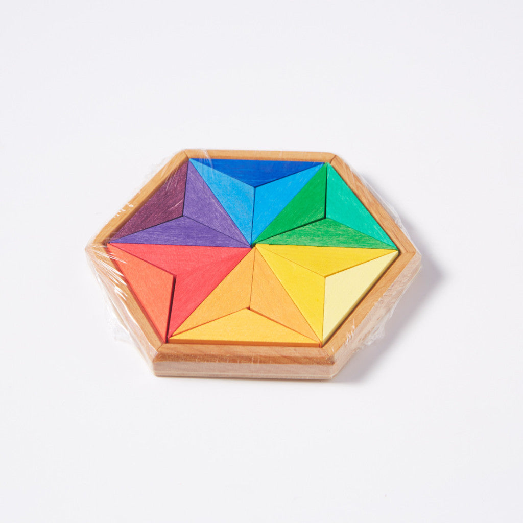 Mini Complementary Star Puzzle