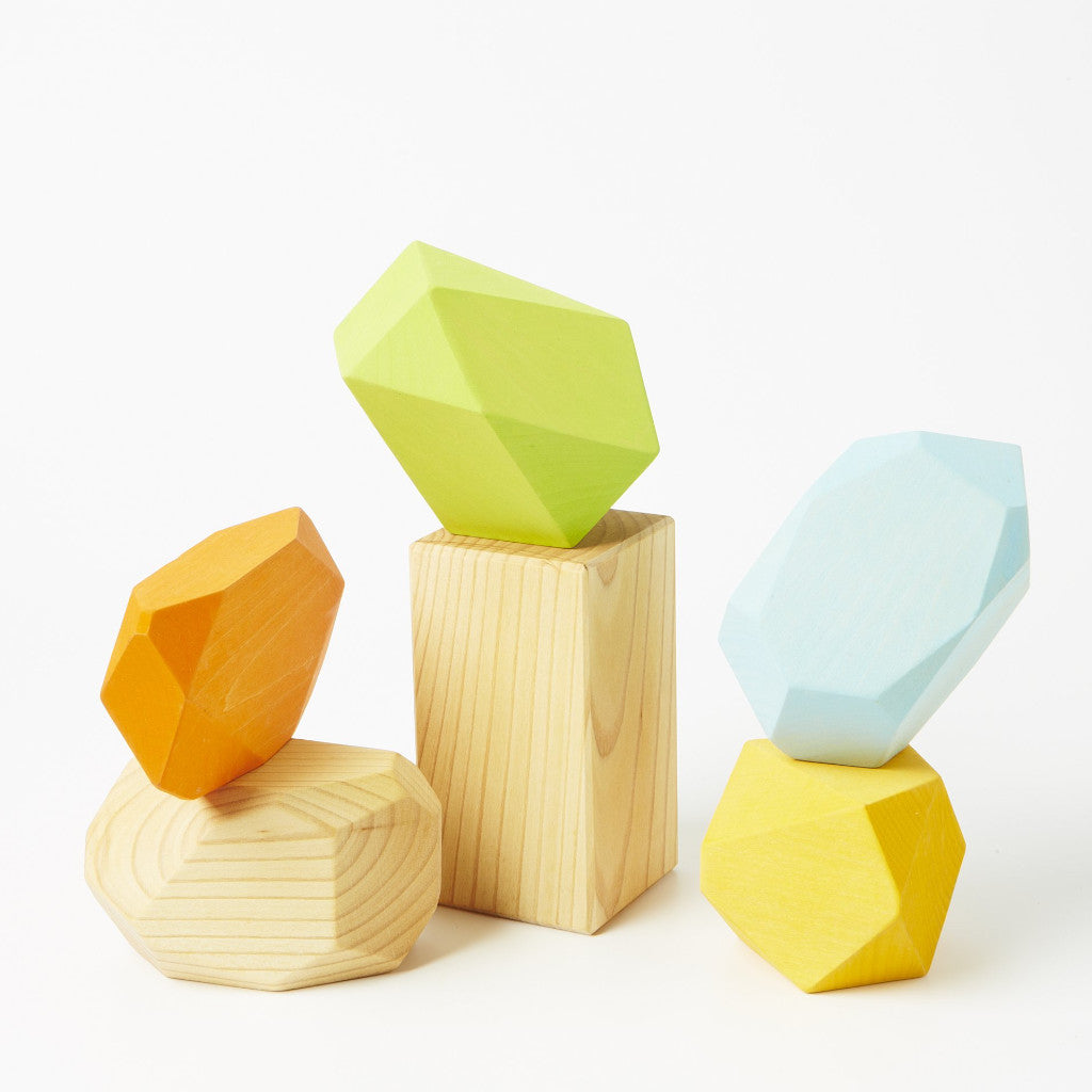 Wooden Gems - Natural
