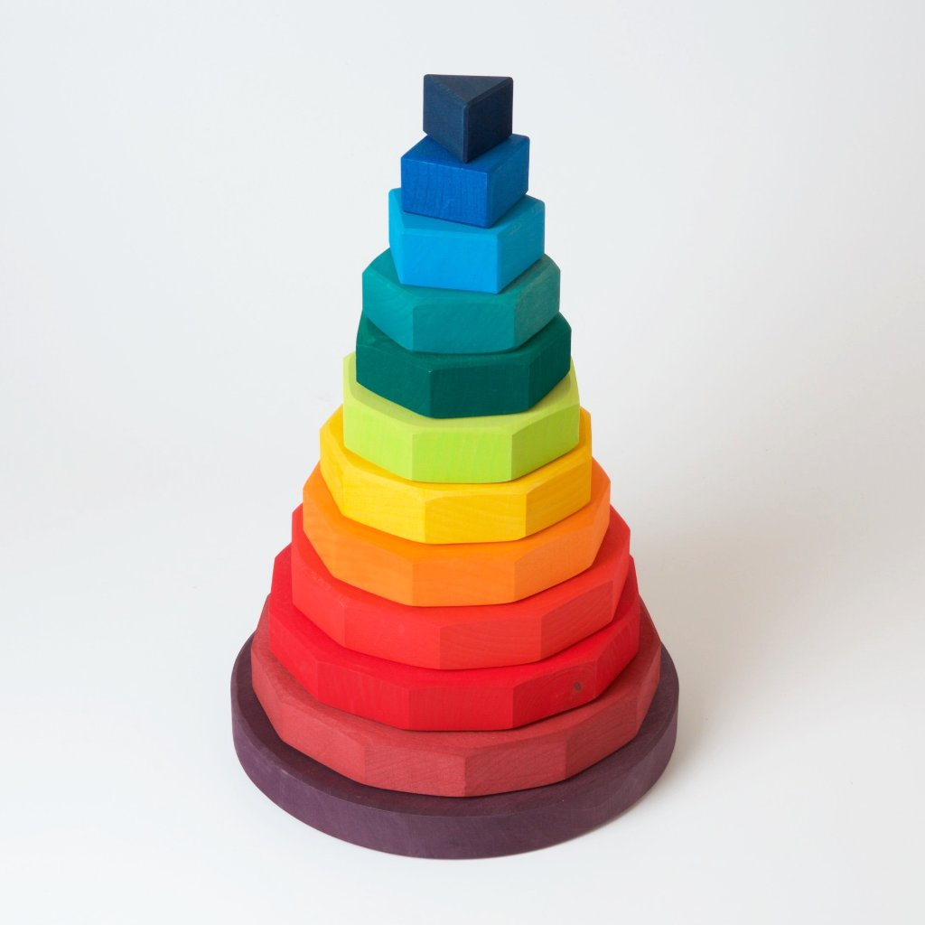 Large Geometric Stacking Tower