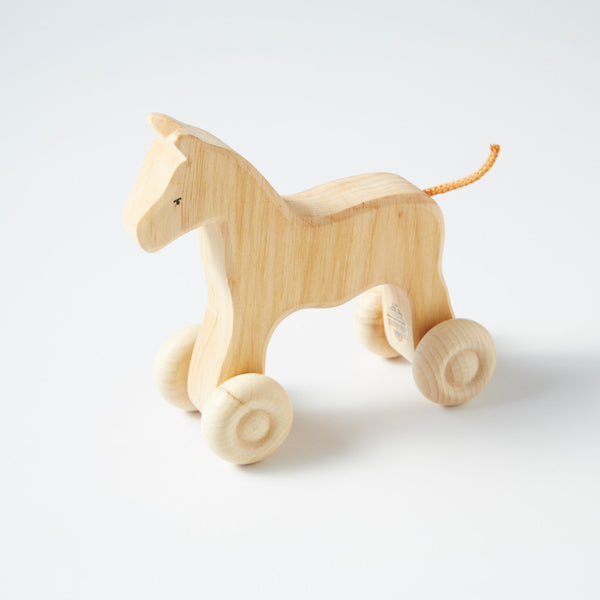 Large Wooden Horse By Grimm's