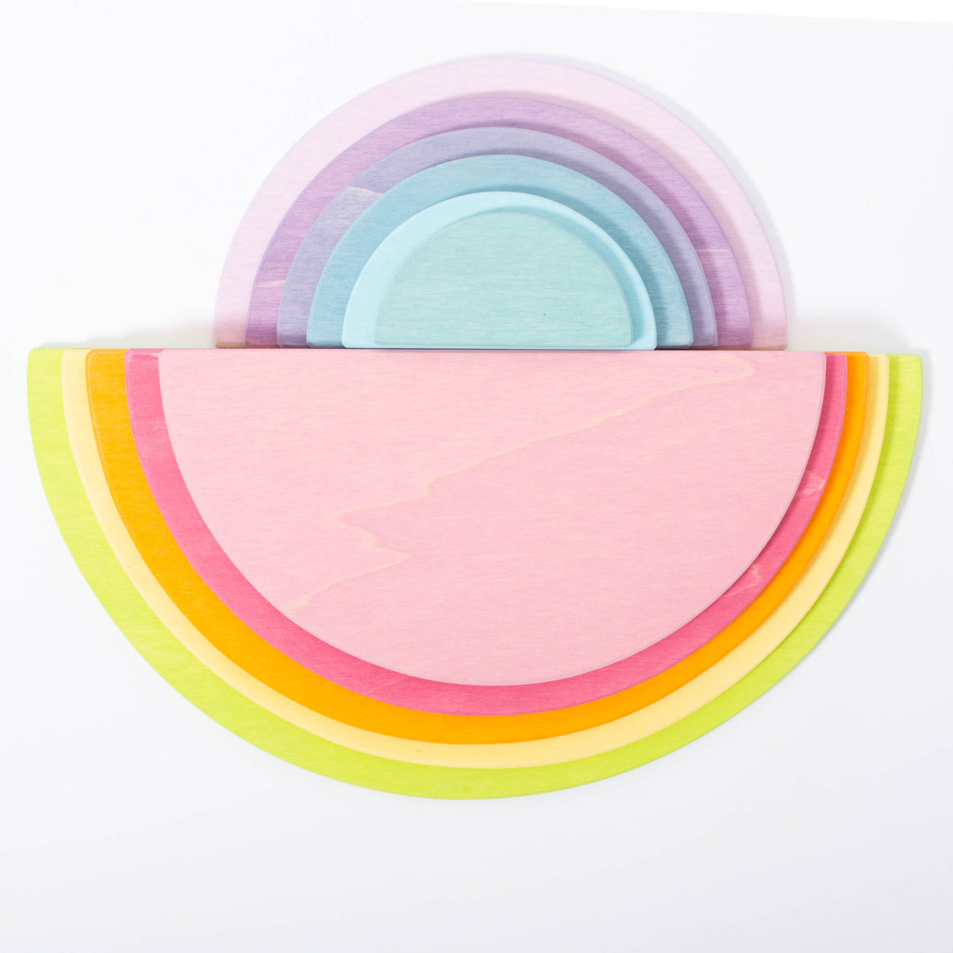 Large Pastel Semi-Circles