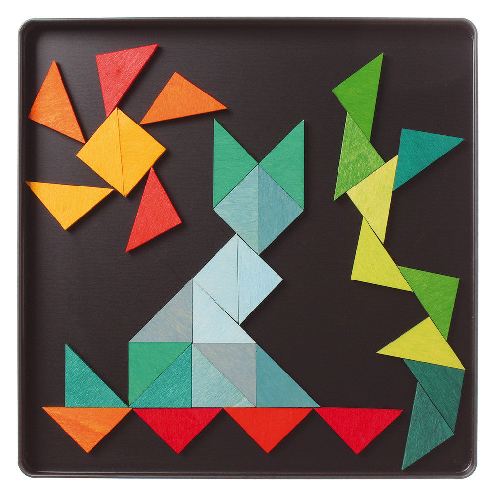Magnet Puzzle - Triangles