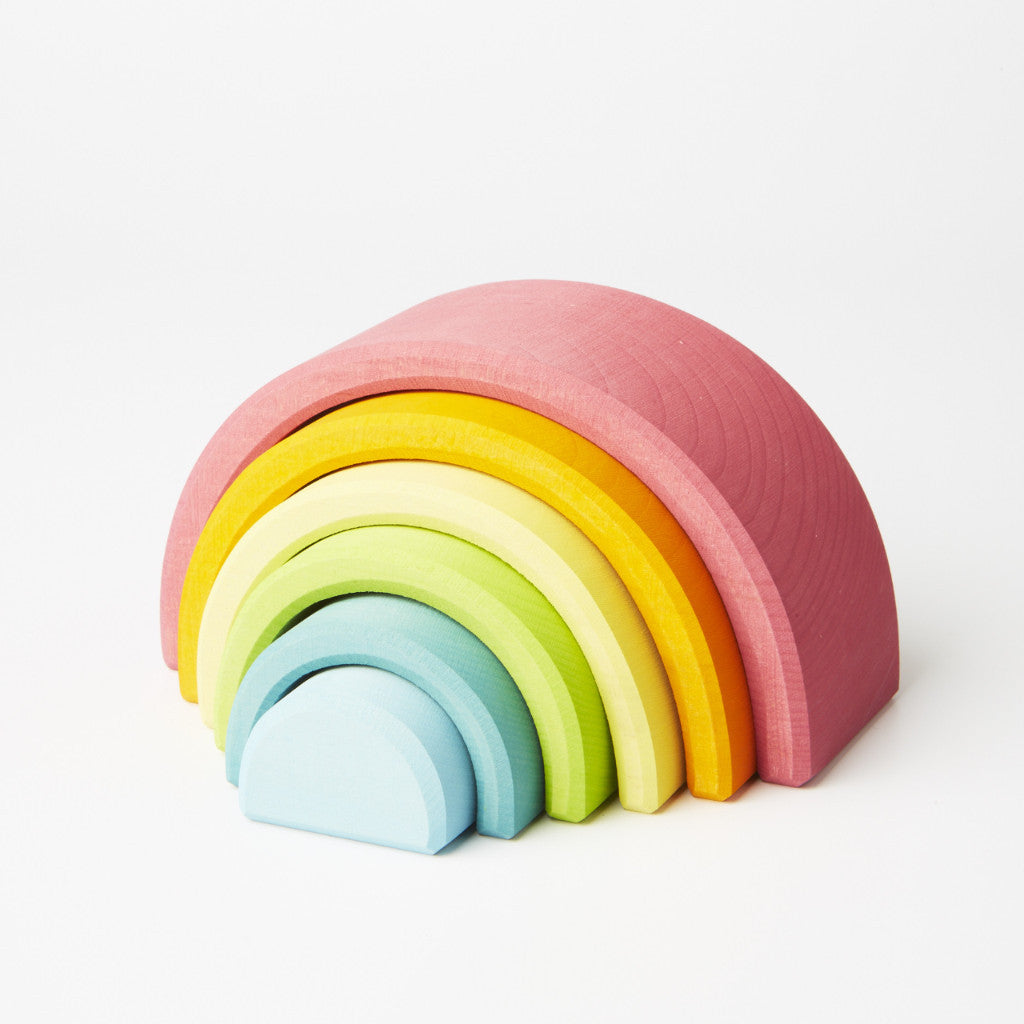 6 Piece Stacking Tunnel - Pastel