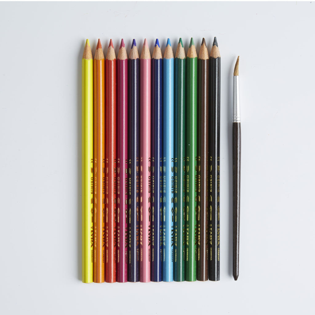 Lyra Osiris Aquarell Pencils (12)