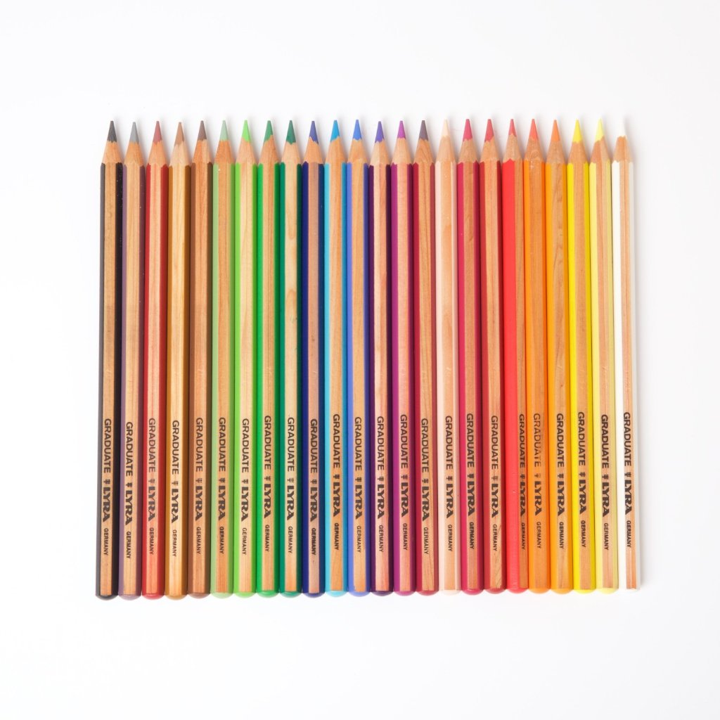 Lyra Graduate Coloured Pencils | 24