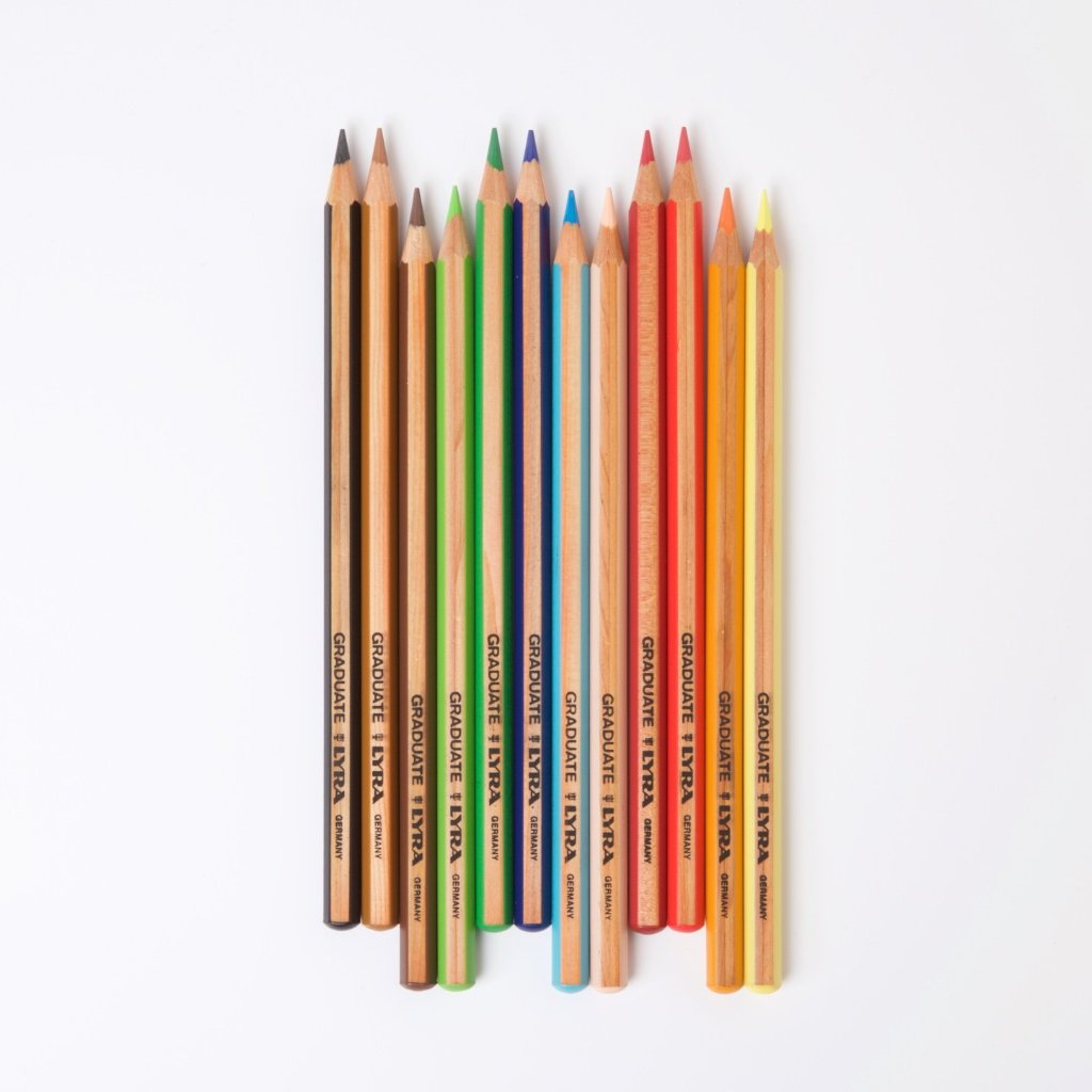 Lyra Graduate Coloured Pencils | 12