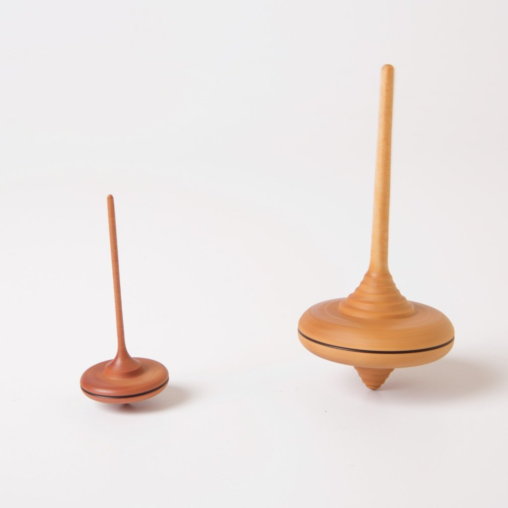 Spaghetti Spinning Top | Natural