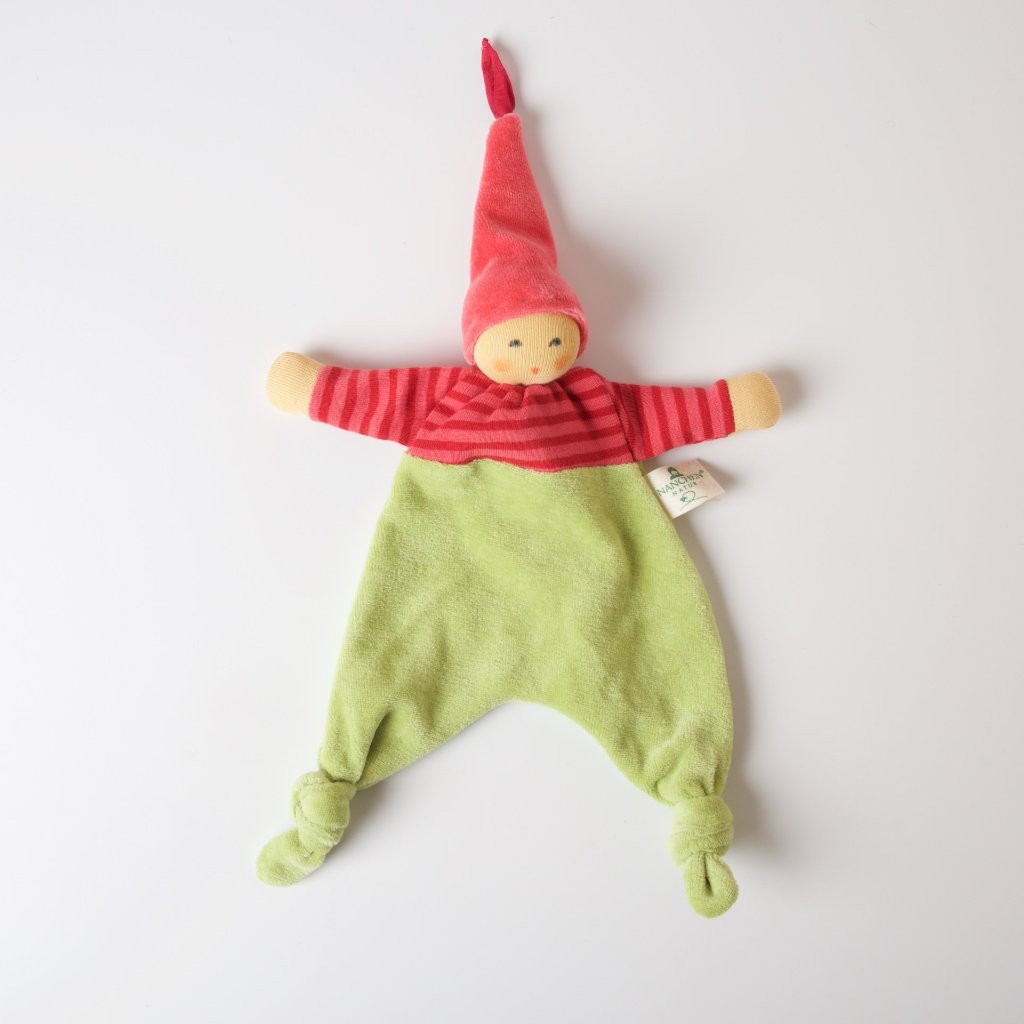 Pink Wood Elf Blanket Doll