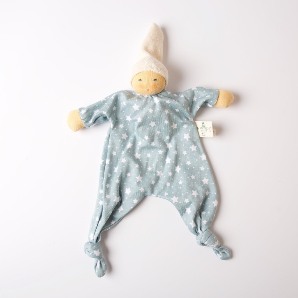Light Blue Star | Blanket Doll