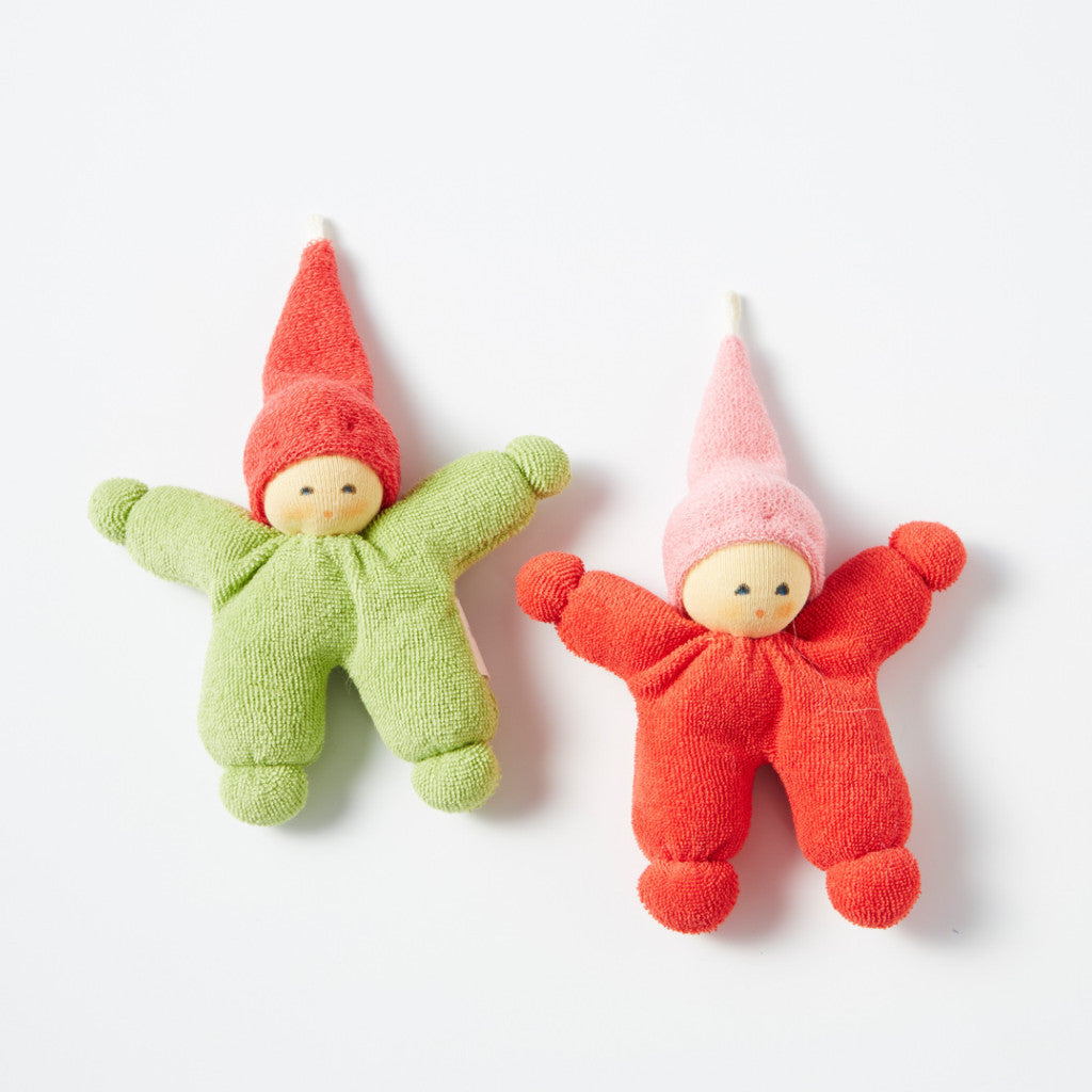 Tiny Organic Cotton Gnome Doll
