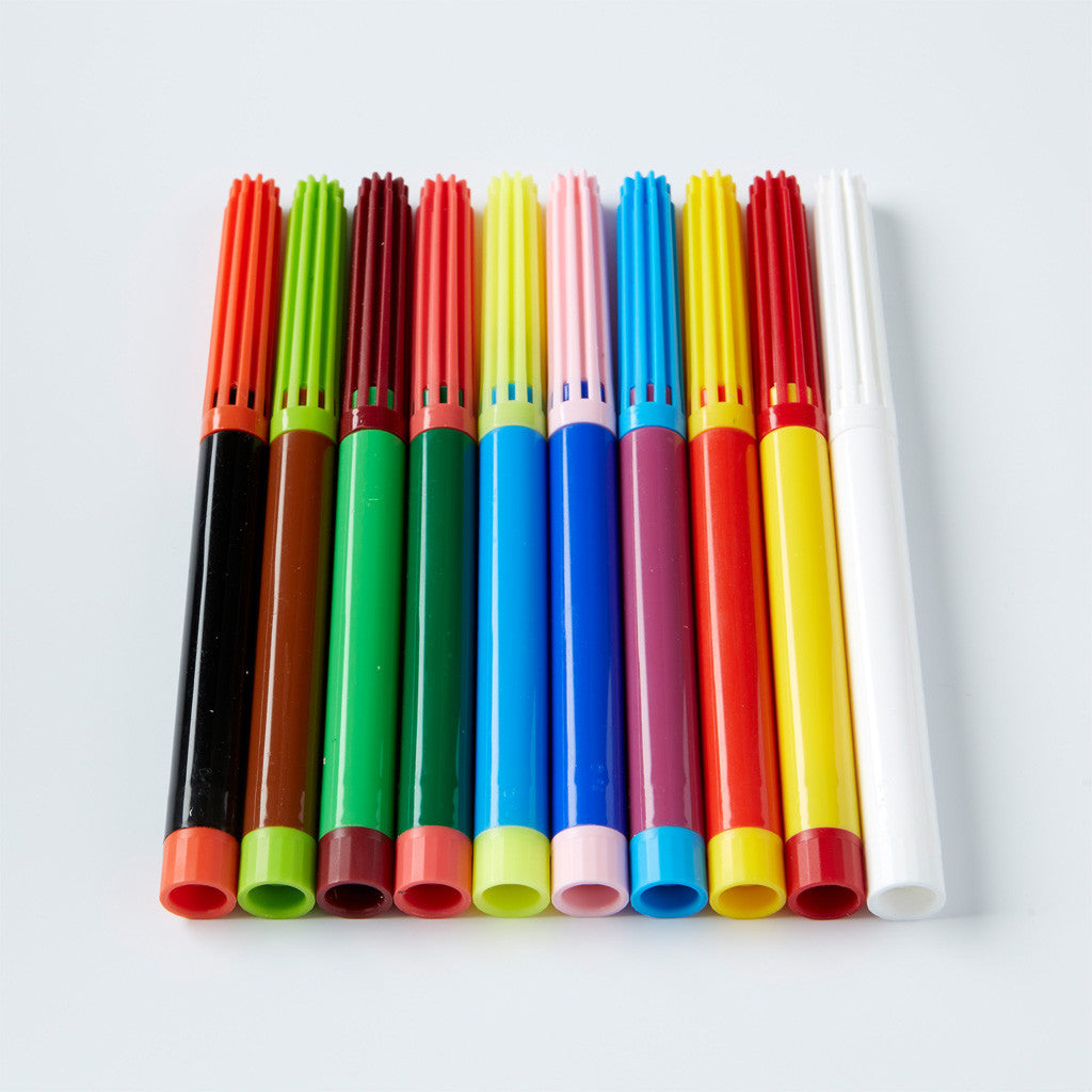 Felt-Tip Pens with Magic Wand