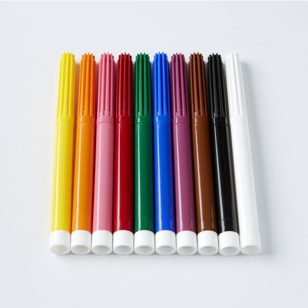 Felt-Tip Pens with Eraser